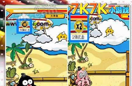 奥比岛小游戏打章鱼攻略