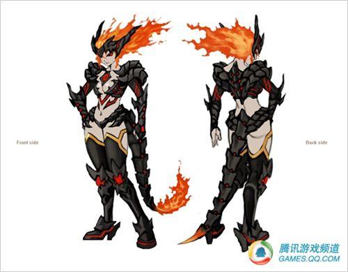 DNF韩服将使用玩家自制天空套 火焰铠甲 4
